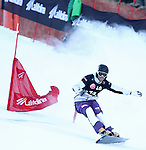10.03.2012, La Molina, Spain. LG Snowboard FIS Wolrd Cup 2011-2012. mEN'S parallel giant slalom. Picture show Simon Schoch SUI