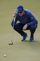Justin Rose (GBR) looks over his putt on 2 during day 4 of the WGC Dell Match Play, at the Austin Country Club, Austin, Texas, USA. 3/30/2019.<br /> Picture: Golffile | Ken Murray<br /> <br /> <br /> All photo usage must carry mandatory copyright credit (© Golffile | Ken Murray)