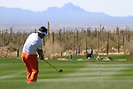 Y.E. Yang (S.KOR) in action on the 11th hole during Day 3 of the Accenture Match Play Championship from The Ritz-Carlton Golf Club, Dove Mountain, Friday 25th February 2011. (Photo Eoin Clarke/golffile.ie)