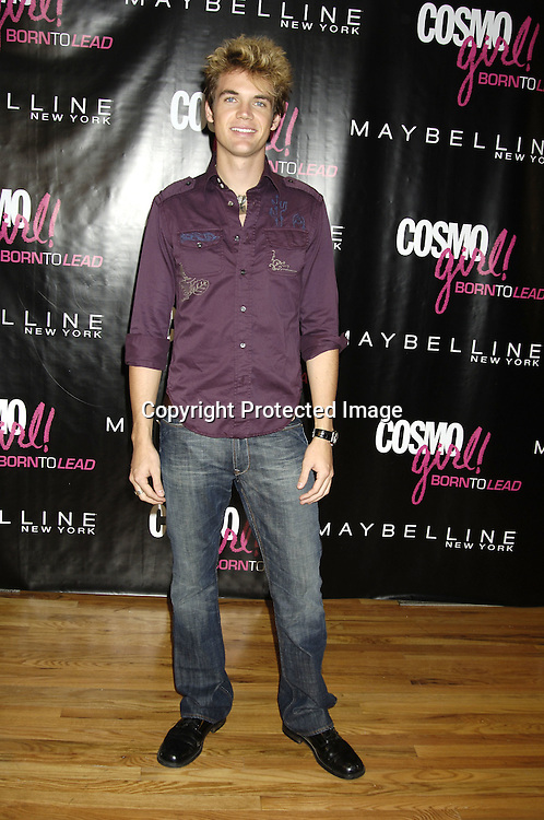 Tyler Hilton ..at the CosmoGIRL luncheon celebrating future leaders with its annual Born To Lead awards on November 8, 2005 at The Atlman Building. ..Photo by Robin Platzer, Twin Images