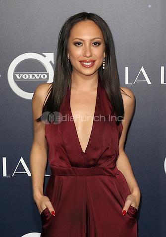 "Westwood, CA - DECEMBER 06: Cheryl Burke At Premiere Of Lionsgate's ""La La Land"" At Mann Village Theatre, California on December 06, 2016. Credit: Faye Sadou/MediaPunch"