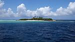 Deserted island, Maldives, Indian Ocean