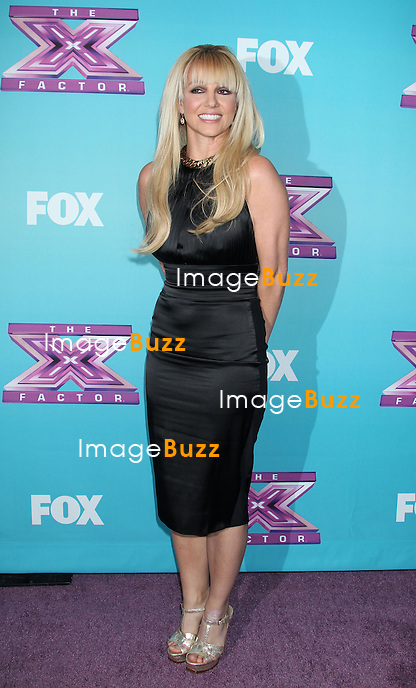 Britney Spears, The X Factor season finale news conference at CBS Television. Los Angeles, December 17, 2012.