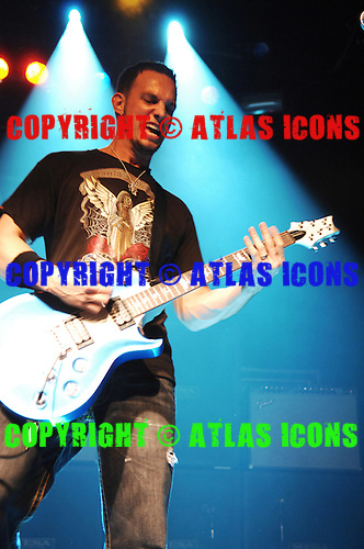 Alterbridge; Mark Tremont; Live, In New York City, 2007.Photo Credit: Eddie Malluk/Atlas Icons.com
