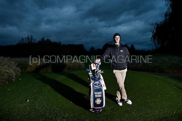 Belgian golf player Thomas Pieters (Belgium, 02/11/2014)