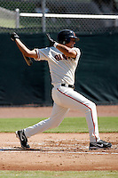 Ydwin Villegas -San Francisco Giants 2009 Instructional League. .Photo by:  Bill Mitchell/Four Seam Images..