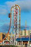 BROOKLYN, NY - September 17:  The Thunderbolt at Coney Island