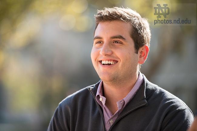 Oct. 8, 2014; MSM candids (Photo by Matt Cashore/University of Notre Dame)
