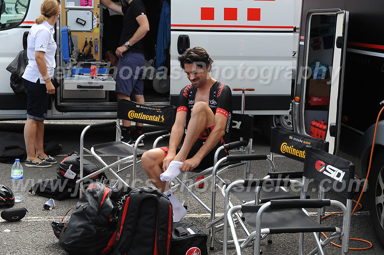 """NFTO racing team cyclist's prepare for the race during the Abergavenny Festival of Cycling """"Grand Prix of Wales"""" race on Sunday 17th 2016<br /> <br /> <br /> Jeff Thomas Photography -  www.jaypics.photoshelter.com - <br /> e-mail swansea1001@hotmail.co.uk -<br /> Mob: 07837 386244 -"""
