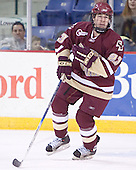 Brian O'Hanley - The Boston College Eagles defeated the University of Massachusetts-Lowell River Hawks 4-3 in overtime on Saturday, January 28, 2006, at the Paul E. Tsongas Arena in Lowell, Massachusetts.