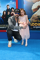 """LOS ANGELES - JAN 6:  AJ McLean, Ava McLean at the """"Paddington 2"""" US Premiere at Village Theater on January 6, 2018 in Westwood, CA"""