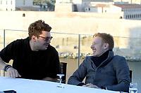 Kev Adams - Come Levin - ConfÈrence de presse pour l'avant-premiËre du film 'Gangsterdam' ‡ Marseille, France, 16/03/2017. # CONFERENCE DE PRESSE DU FILM 'GANGSTERDAM' A MARSEILLE