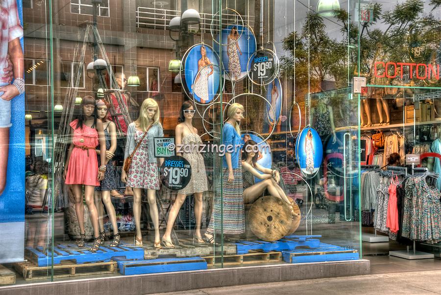 Cotton On USA, Third Street Promenade, Downtown,  stores, shopping, street mall;