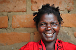 A woman in Dofu, an area in northern Malawi which has been hit hard by drought and hunger.