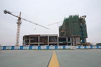 Commercial Building Development in Xianyang, China.  © LAN