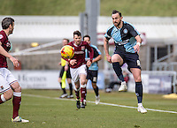 Paul Hayes of Wycombe Wanderers during the Sky Bet League 2 match between Northampton Town and Wycombe Wanderers at Sixfields Stadium, Northampton, England on the 20th February 2016. Photo by Liam McAvoy.