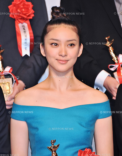 "Emi Takei, May 2, 2013, Tokyo, Japan : Actress Emi Takei attends the award ceremony of ""Japan movie critics award"" in Tokyo, Japan, on May 2, 2013. (Photo by AFLO)"