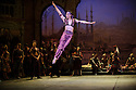 London, UK. 12.01.2016. English National Ballet present Le Corsaire, at the London Coliseum. Picture shows: Jinhao Zhang (Lankendem). Photograph © Jane Hobson.