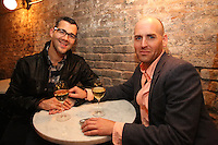 Jonathon Jeremias and Michael Francis attend the private screening of ABC's new show Selfie at the Wythe Hotel's cinema in Brooklyn on September 24, 2014