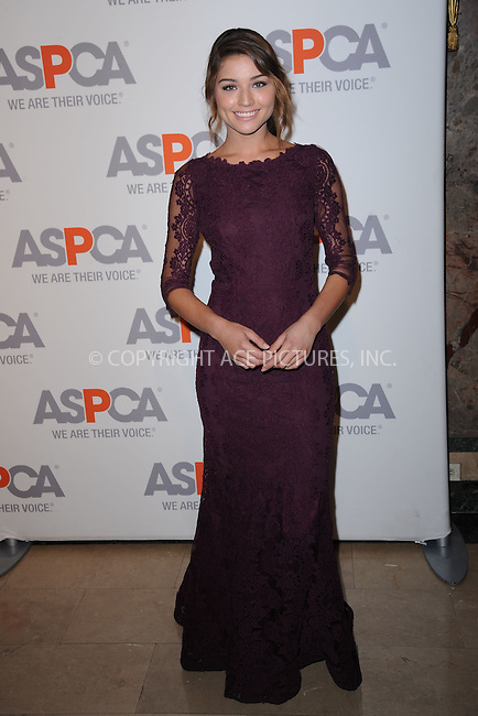 WWW.ACEPIXS.COM<br /> April 9, 2015 New York City<br /> <br /> Daniela Lopez Osorio attending the 18th Annual ASPCA Bergh Ball at the Plaza Hotel on April 9, 2015 in New York City.<br /> <br /> Please byline: Kristin Callahan/AcePictures<br /> <br /> ACEPIXS.COM<br /> <br /> Tel: (646) 769 0430<br /> e-mail: info@acepixs.com<br /> web: http://www.acepixs.com
