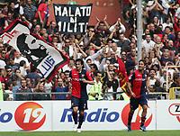 """milito 2-0 esultanza<br /> Genova 14/09/2008 Stadio """"Ferraris"""" <br /> Calcio Serie A Tim 2008-2009 <br /> Genoa-Milan<br /> Foto Davide Elias Insidefoto"""