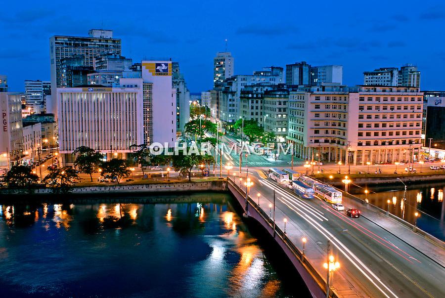 Centro histórico de Recife. Pernambuco. 2006. Foto de Ricardo Azoury.
