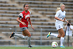 24 August 2014: Ohio State's Elly Gruber. The University of North Carolina Tar Heels hosted the Ohio State University Buckeyes at Fetzer Field in Chapel Hill, NC in a 2014 NCAA Division I Women's Soccer match. UNC won the game 1-0.