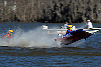 Frame 10: 1-US goes for a wild ride.   (outboard hydroplane)