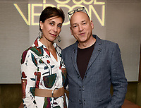 LOS ANGELES - SEPTEMBER 21: Evan Handler (R) and XXX attend the FX Networks & Vanity Fair Pre-Emmy Party at Craft LA on September 21, 2019 in Los Angeles, California. (Photo by Frank Micelotta/FX/PictureGroup)