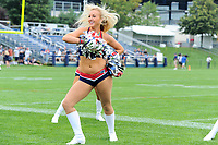August 3, 2017: New England Patriots Cheerleaders entertain fans at the New England Patriots training camp held at Gillette Stadium, in Foxborough, Massachusetts. Eric Canha/CSM