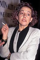 TIZIANA PARENTI  magistrato del pool mani pulite dimessasi nel 1993<br /> TIZIANA PARENTI magistrate of the pool mani pulite (clean hands), she resigned in 1993