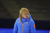 SCHAATSEN: HEERENVEEN: 29-11-2014, IJsstadion Thialf, KNSB trainingswedstrijd, Marianne Timmer, ©foto Martin de Jong