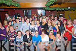 CHEERS: Loud cheers for John Flaherty,Stackville, Ardfert as he celebrated his 21st with his family and friends in The Abbey Tavern, Ardfert, (john is seated 3rd from left).......... . ............................... ..........
