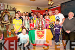 FA Cup: Listowel Arsenal fans pictured with the 2014 FA cup at the Saddle Bar, Listowel on Saturday eveneing last.