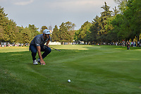 Dustin Johnson (USA) looks over his putt on 18 during round 4 of the World Golf Championships, Mexico, Club De Golf Chapultepec, Mexico City, Mexico. 2/24/2019.<br /> Picture: Golffile | Ken Murray<br /> <br /> <br /> All photo usage must carry mandatory copyright credit (© Golffile | Ken Murray)