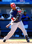 17 March 2007: Washington Nationals infielder Ronnie Belliard in action against the New York Mets at Tradition Field in Port St. Lucie, Florida...Mandatory Photo Credit: Ed Wolfstein Photo