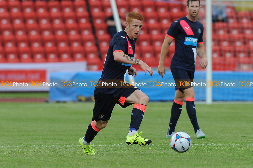 Jack Colback of Newcastle United - Gateshead vs Newcastle United - Pre-Season Friendly Football Match at the Gateshead International Stadium - 10/07/15 - MANDATORY CREDIT: Steven White/TGSPHOTO - Self billing applies where appropriate - contact@tgsphoto.co.uk - NO UNPAID USE