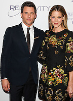 BEVERLY HILLS, CA, USA - OCTOBER 14: James Marsden, Michelle Monaghan arrive at the 20th Annual Fulfillment Fund Stars Benefit Gala held at The Beverly Hilton Hotel on October 14, 2014 in Beverly Hills, California, United States. (Photo by Celebrity Monitor)