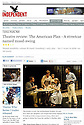 The American Plan, Ustinov Studio, Theatre Royal Bath, Independent, 16.03.13