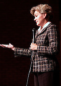 "What not to do: Michigan Governor Jennifer Granholm came with a message for students attending Birmingham Seaholm High School and that was not to ""squander"" the benefit of recieving a good education."