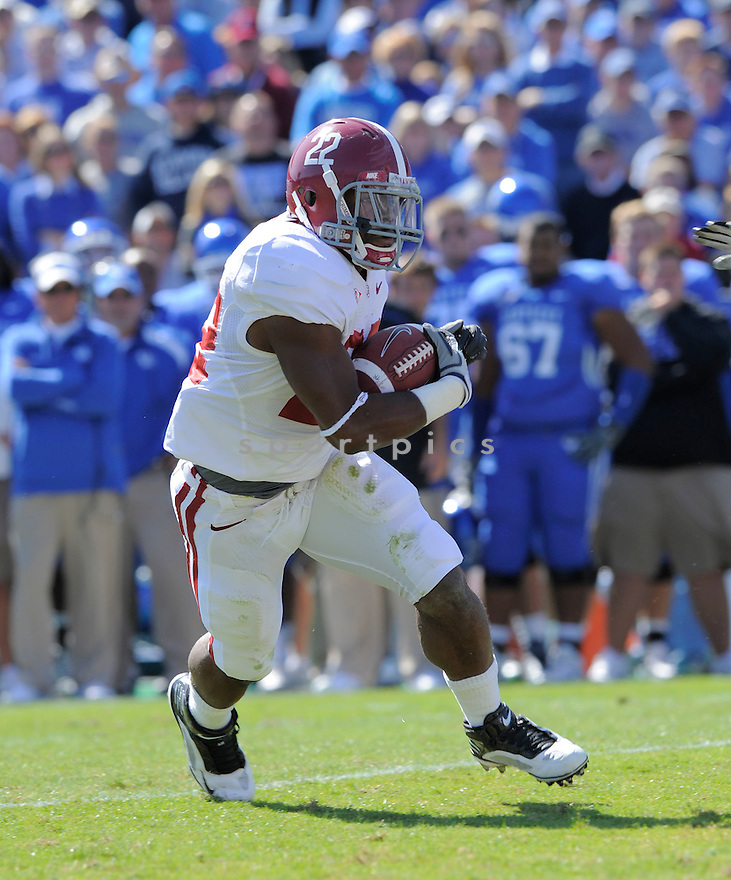 MARK INGRAM, of the Alabama Crimson Tide, in action during the Crimson Tide game against the Kentucky Wildcats on October 2, 2009 in Lexington, KY. The Crimson Tide beat the Wildcats   38-20 ...