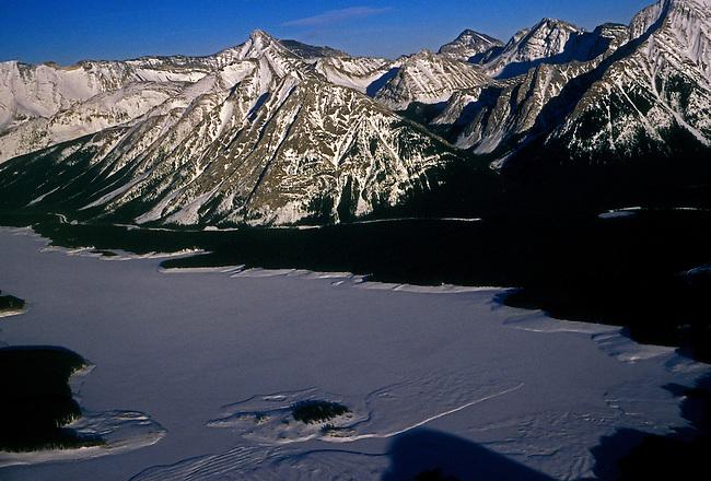 Canadian Rockies, Continental Divide, Banff National Park, near Banff, Alberta Province, Canada, North America