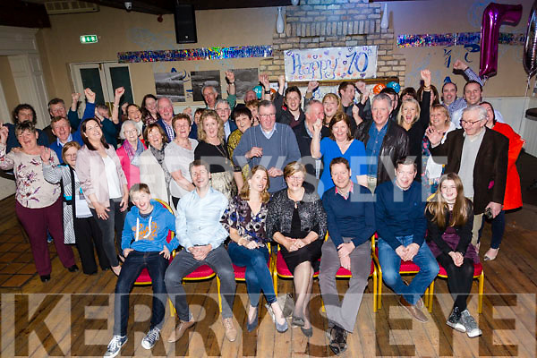Surprise 70th Birthday for Maureen O'Brien, Manor Tralee, celebrating with family and friends at the Ashe Hotel on Saturday