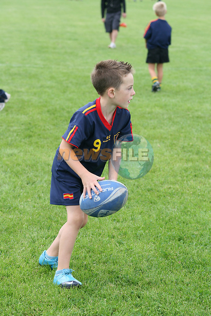 at the Summer Camp in Boyne Rugby Football Club..Picture Jenny Matthews/Newsfile.ie