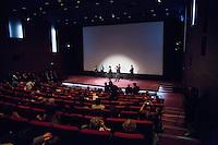LAURE CALAMY, JUSTINE TRIET, VINCENT LACOSTE, MELVIL POUPAUD, FREDERIC BONNAUD, CHARLES TESSON - PROJECTION DU FILM 'VICTORIA' A LA CINEMATHEQUE FRANCAISE A L'OCCASION DE LA REPRISE DE LA SELECTION CANNOISE DE LA SEMAINE DE LA CRITIQUE