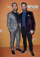 17  November 2019 - Beverly Hills, California - Lance Bass, Michael Turchin. The Trevor Project's TrevorLIVE LA 2019 held at The Beverly Hilton Hotel. Photo Credit: PMA/AdMedia