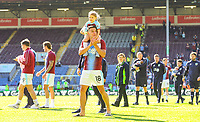Burnley's Ashley Westwood applauds the fans after the match<br /> <br /> Photographer Alex Dodd/CameraSport<br /> <br /> The Premier League - Burnley v Arsenal - Sunday 12th May 2019 - Turf Moor - Burnley<br /> <br /> World Copyright &copy; 2019 CameraSport. All rights reserved. 43 Linden Ave. Countesthorpe. Leicester. England. LE8 5PG - Tel: +44 (0) 116 277 4147 - admin@camerasport.com - www.camerasport.com