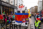 The Tralee Christmas Parade on Saturday last.