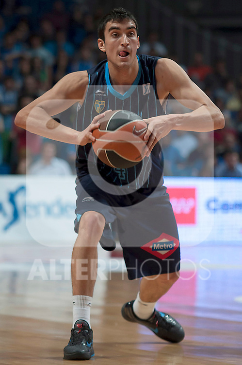 Asefa Estudiantes' Jaime Fernandez during Liga Endesa ACB match.April 1,2012. (ALTERPHOTOS/Ricky)