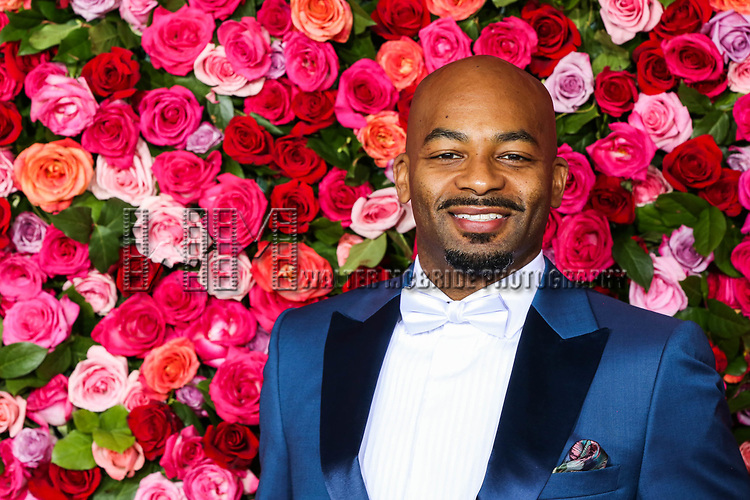 NEW YORK, NY - JUNE 10:  Brandon Victor Dixon  attends the 72nd Annual Tony Awards at Radio City Music Hall on June 10, 2018 in New York City.  (Photo by Walter McBride/WireImage)